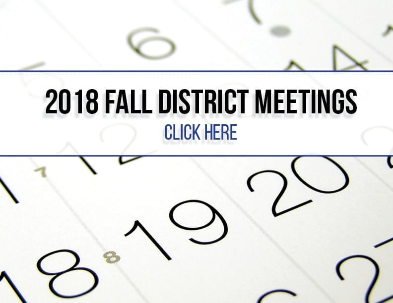 Click to see this year's district meetings!