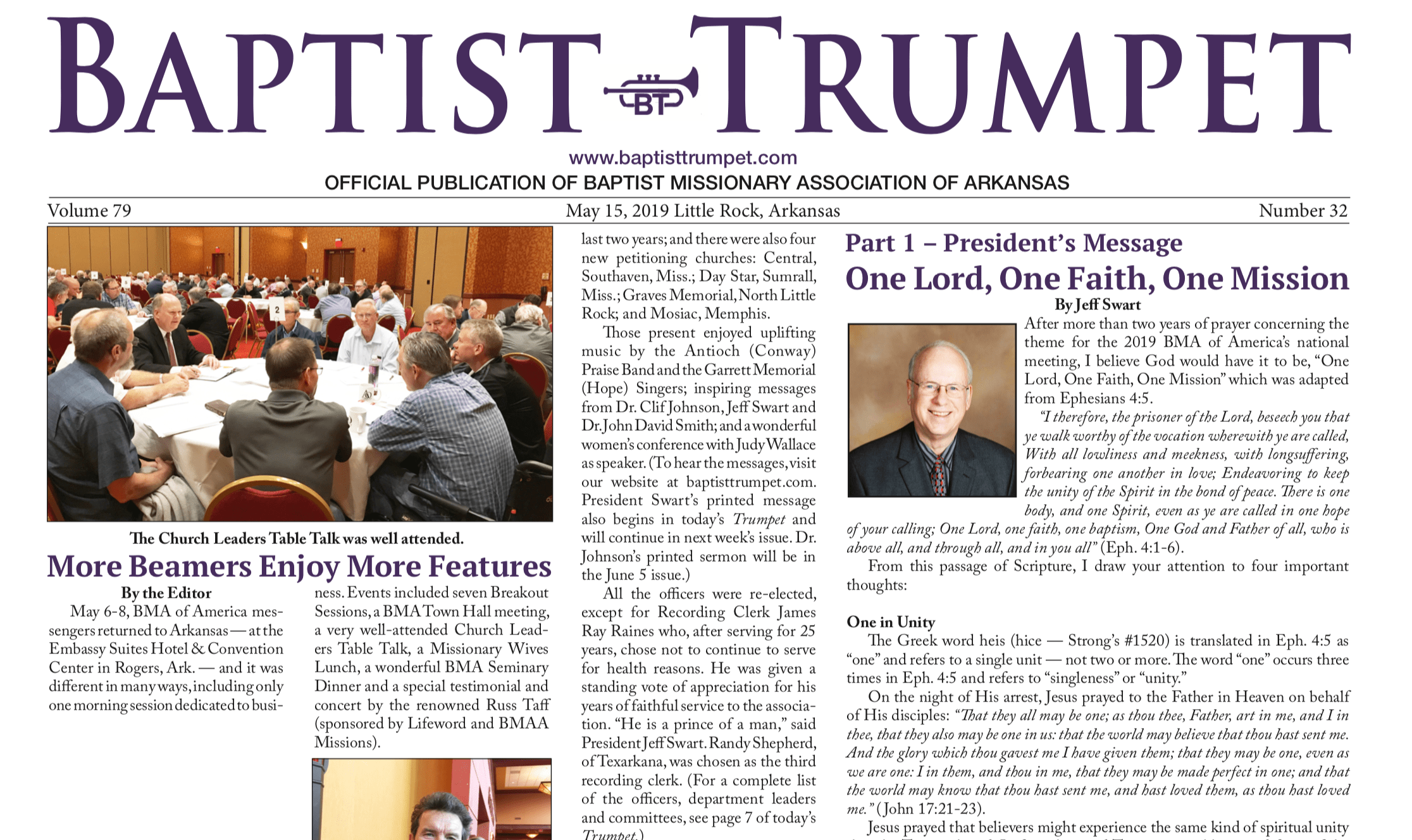 Exclusive look into the May 15, 2019 Issue!