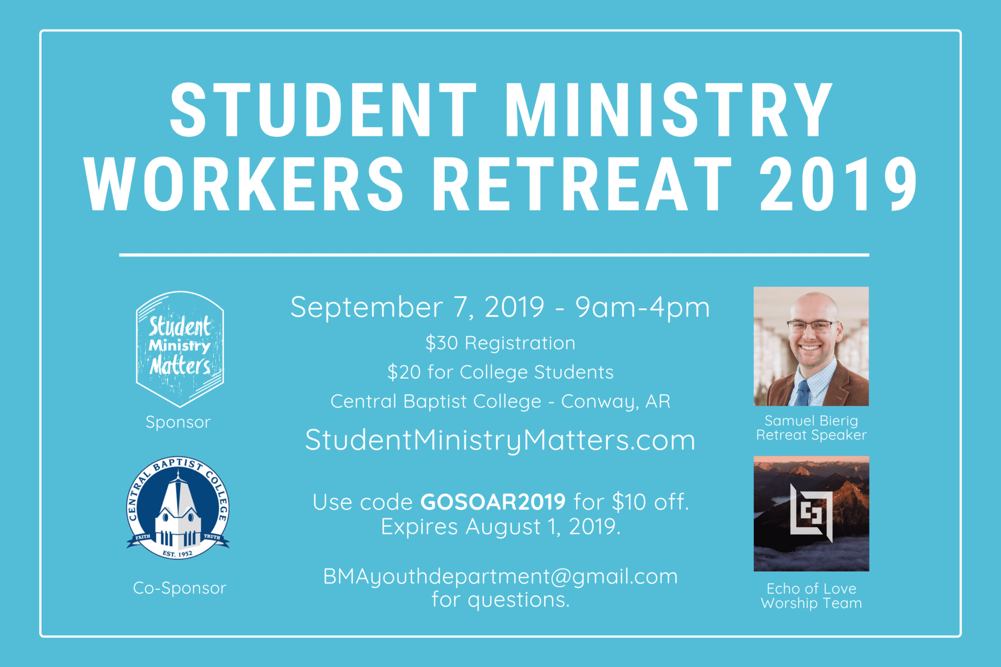 Student Ministry Workers' Retreat